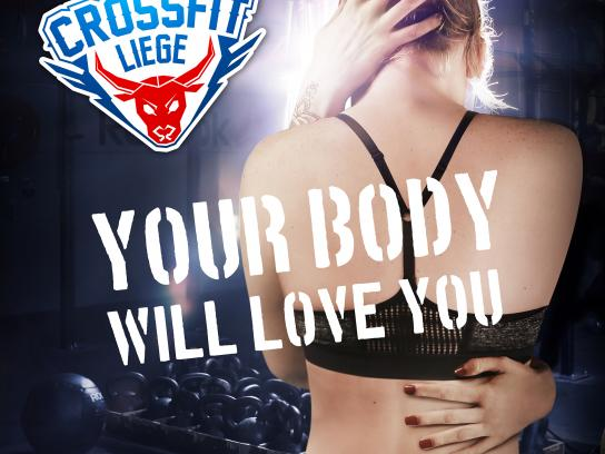 Crossfit Print Ad - Love yourself, 2