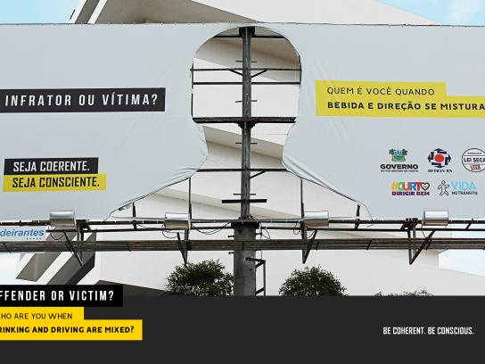 Detran-RN Outdoor Ad - Cross Lives, 4