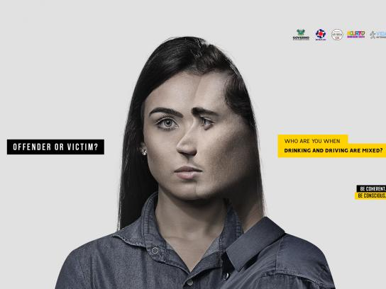 Detran-RN Print Ad - Cross Lives, 1