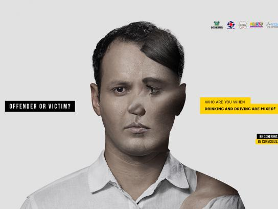Detran-RN Print Ad - Cross Lives, 2