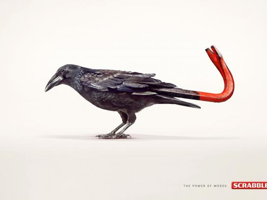 Scrabble Print Ad -  Crow-bar
