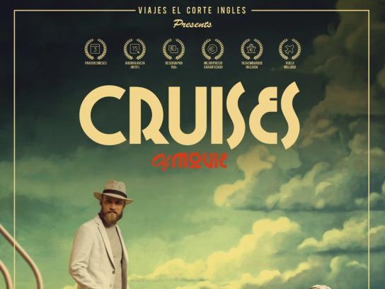 Viajes el Corte Ingles Print Ad - Cruises of Movie