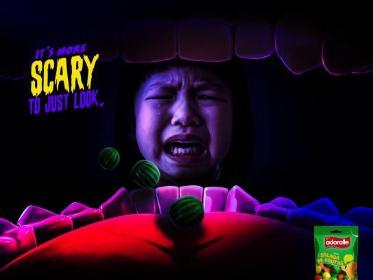 Adoralle Print Ad - Crying Girl