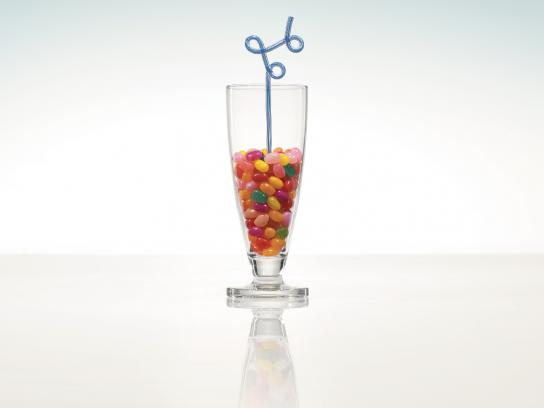 Crystal Light Print Ad -  Jelly Beans