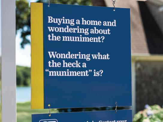 Connecticut Realtors Outdoor Ad -  Get expert help, 2