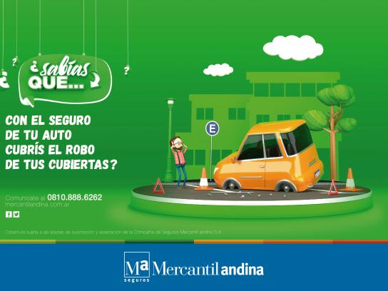 Mercantil Andina Print Ad - Covered