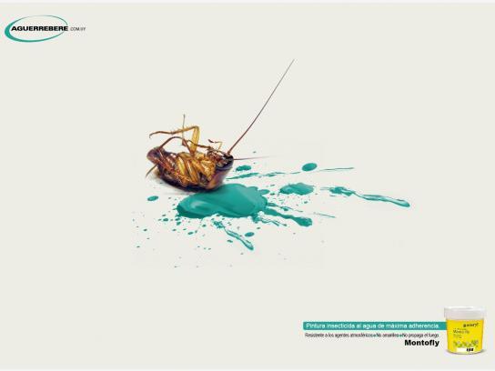Aguerrebere Print Ad -  Cockroach