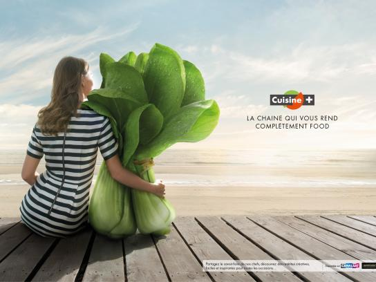 Cuisine+ Print Ad -  Passionately cooking, 1