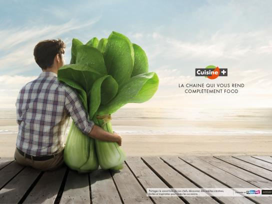 Cuisine+ Print Ad -  Passionately cooking, 2