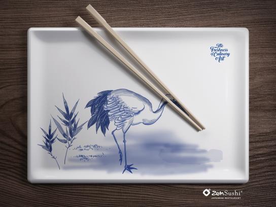 ZenSushi Print Ad - Culinary Arts, 3