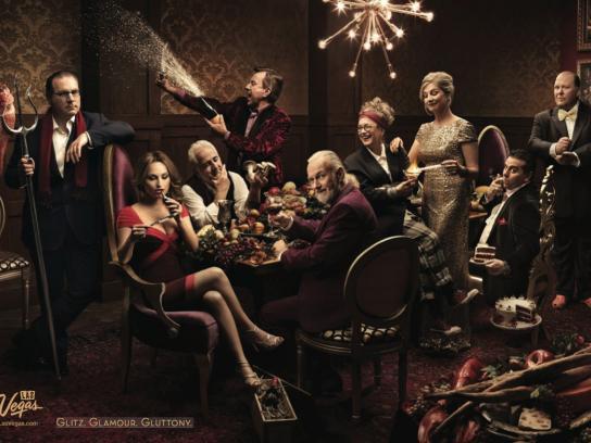 Las Vegas Print Ad -  Beggars banquet