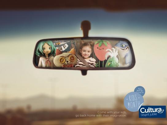 Cultura Print Ad -  Kids, 2
