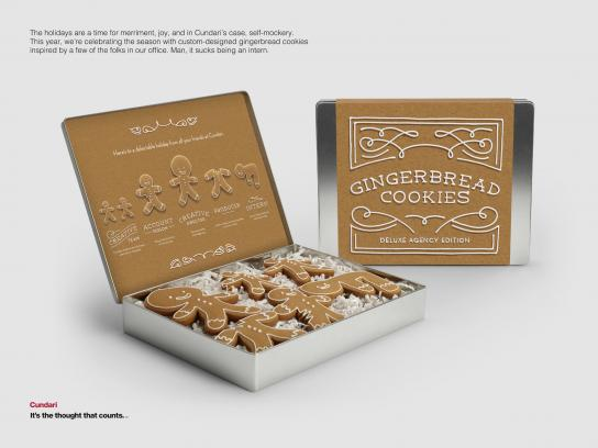 Cundari Direct Ad -  Holiday cookies