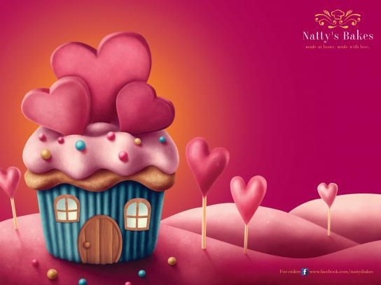 Natty's Bakes Print Ad - Cupcakes Galore