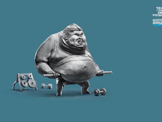 Gustavo Borges Print Ad -  Curl