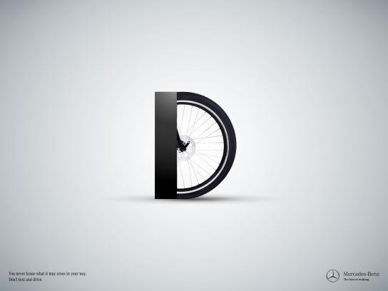 Mercedes Print Ad -  D