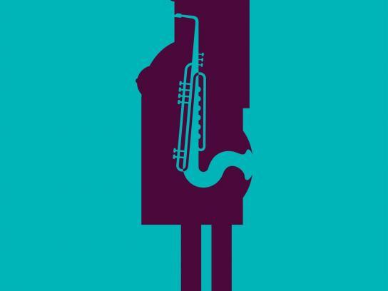 Dabur Print Ad -  Saxophone