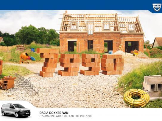 Dacia Print Ad -  Prices, Building