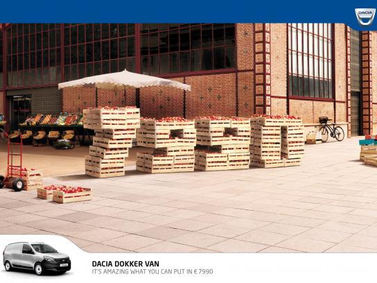 Dacia Print Ad -  Prices, Market