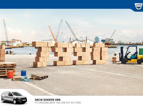 Dacia Print Ad -  Prices, Port