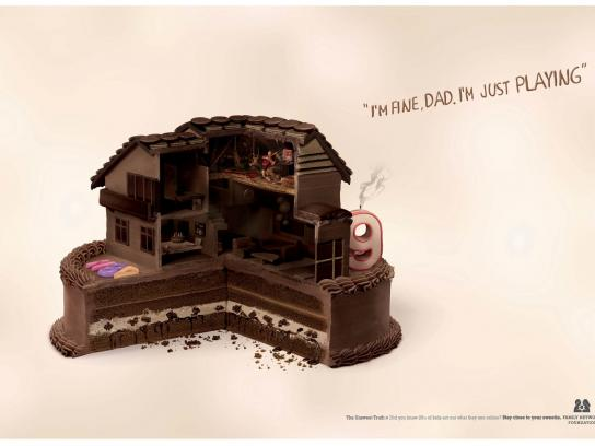 Family Network Foundation Print Ad -  Dad