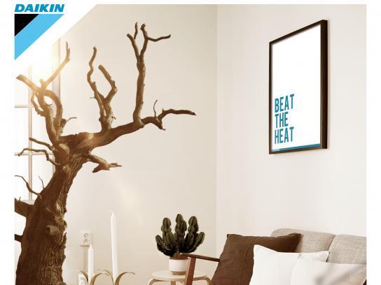 Daikin Print Ad - Beat The Heat