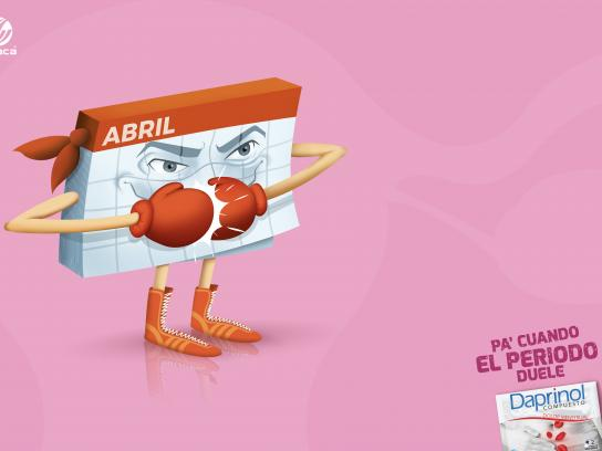 Daprinol Print Ad - Calendar
