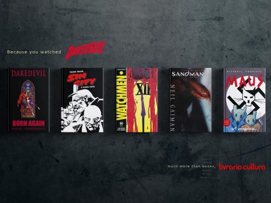 Livraria Cultura Print Ad - Daredevil