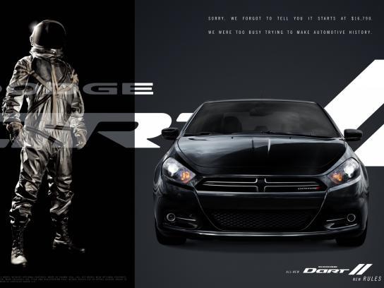 Dodge Print Ad -  Black