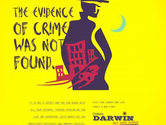 Colégio Darwin Print Ad - Crime