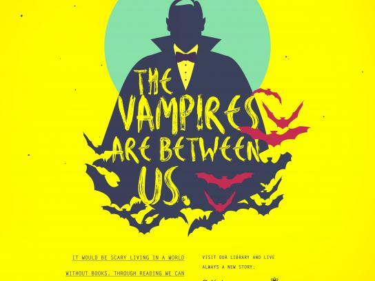 Colégio Darwin Print Ad - Vampires