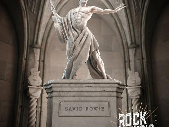 Rock is Religion - David Bowie