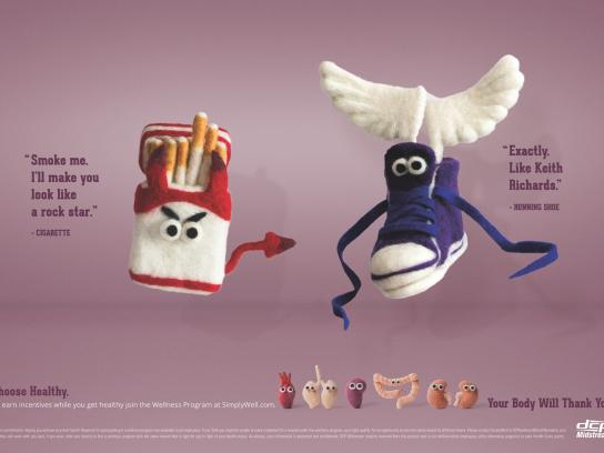 DCP Midstream Print Ad - Listen to your body - Rock star