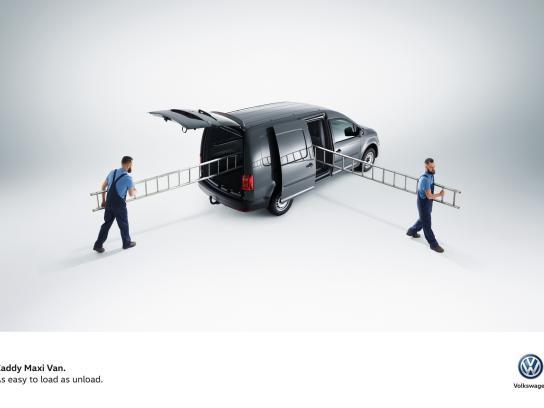 Volkswagen Print Ad -  Easy, 1
