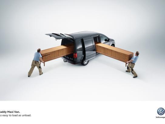 Volkswagen Print Ad -  Easy, 2