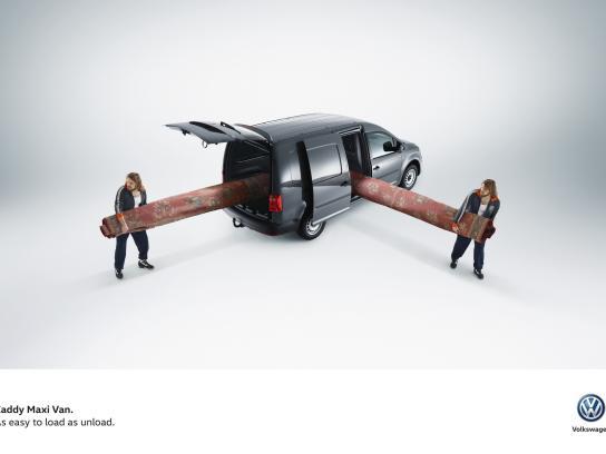 Volkswagen Print Ad -  Easy, 3