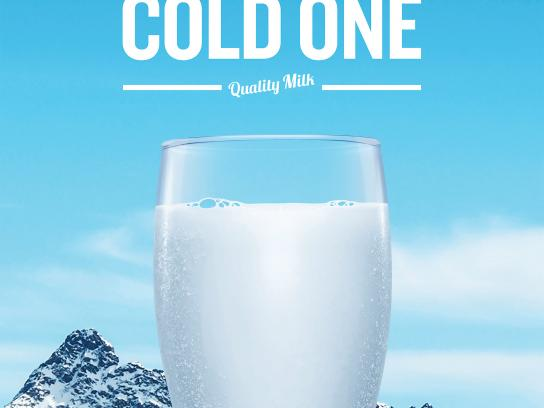 Dairy Farmers of Canada Print Ad - Cold
