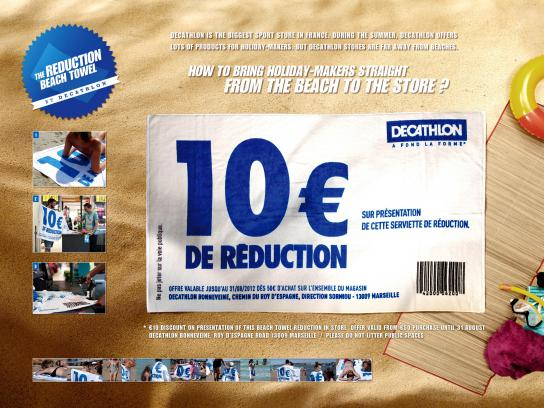 Decathlon Ambient Ad -  The Reduction Beach Towel