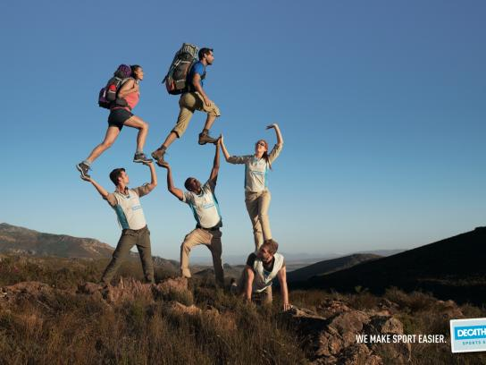 Decathlon Print Ad -  Hiking