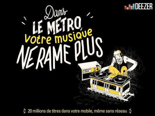Deezer Print Ad -  Music, 4