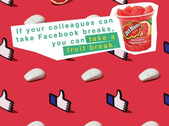 Del Monte Print Ad -  Facebook