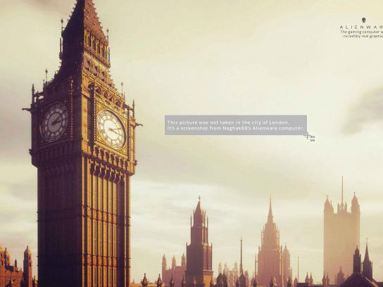 Dell Print Ad - Alienware - London