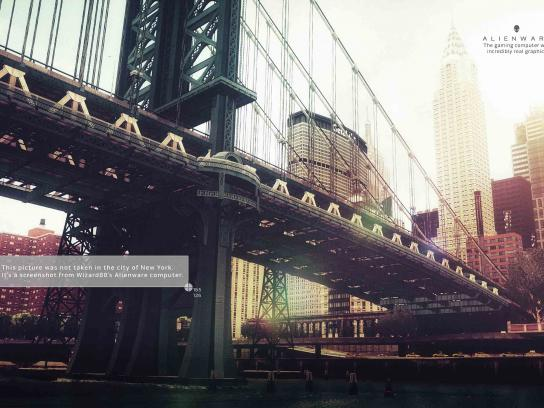 Dell Print Ad - Alienware - New York