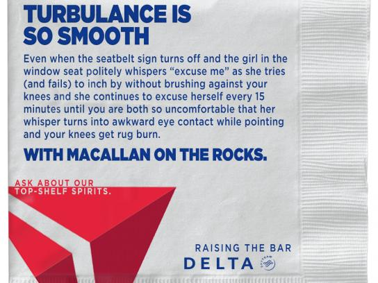 Delta Direct Ad - Raising the Bar - Turbulence