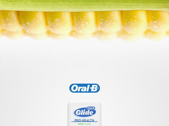 Oral-B Print Ad - Corn