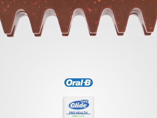 Oral-B Print Ad - Toblerone