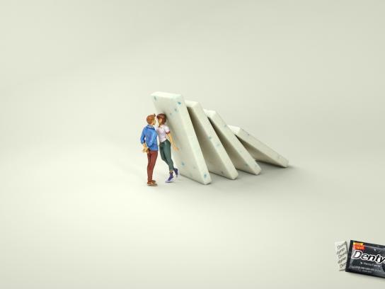 Dentyne Print Ad - Girl
