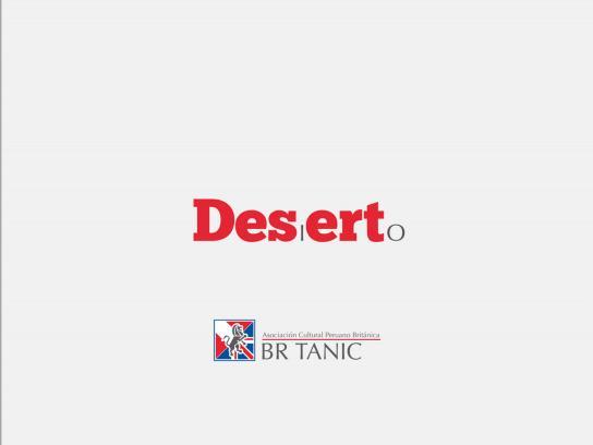 Británico Print Ad -  Desert