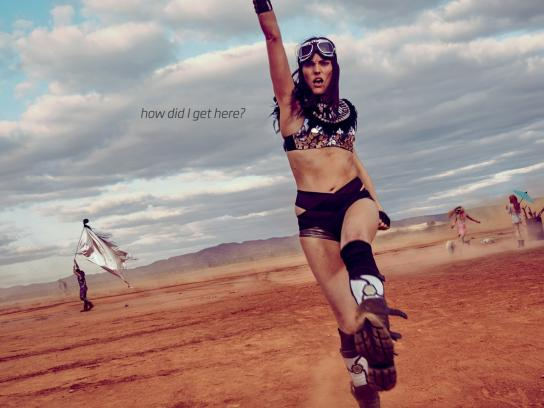 Fitness First Outdoor Ad -  Desert