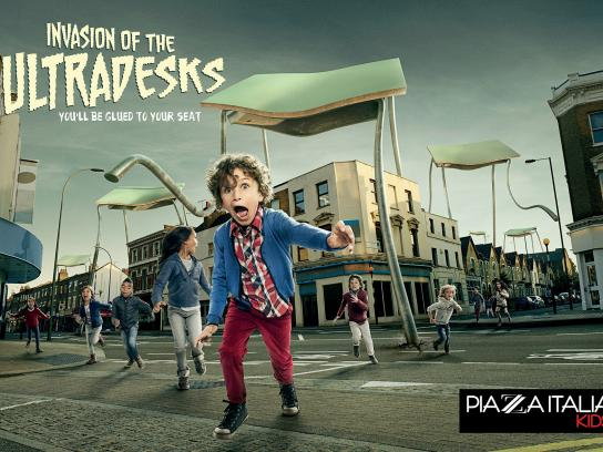 Piazza Italia Print Ad -  Back To School, 2